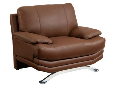 Global Furniture USA GF-9250 Chair - Brown Leather Match