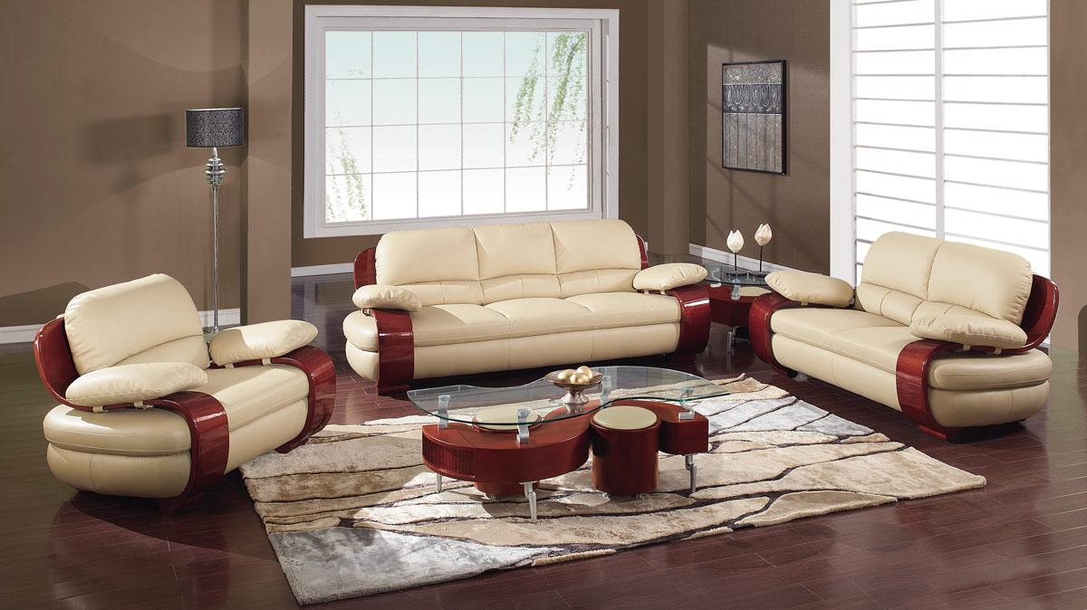 Global Furniture USA 965 Living Room Set   Cappuccino