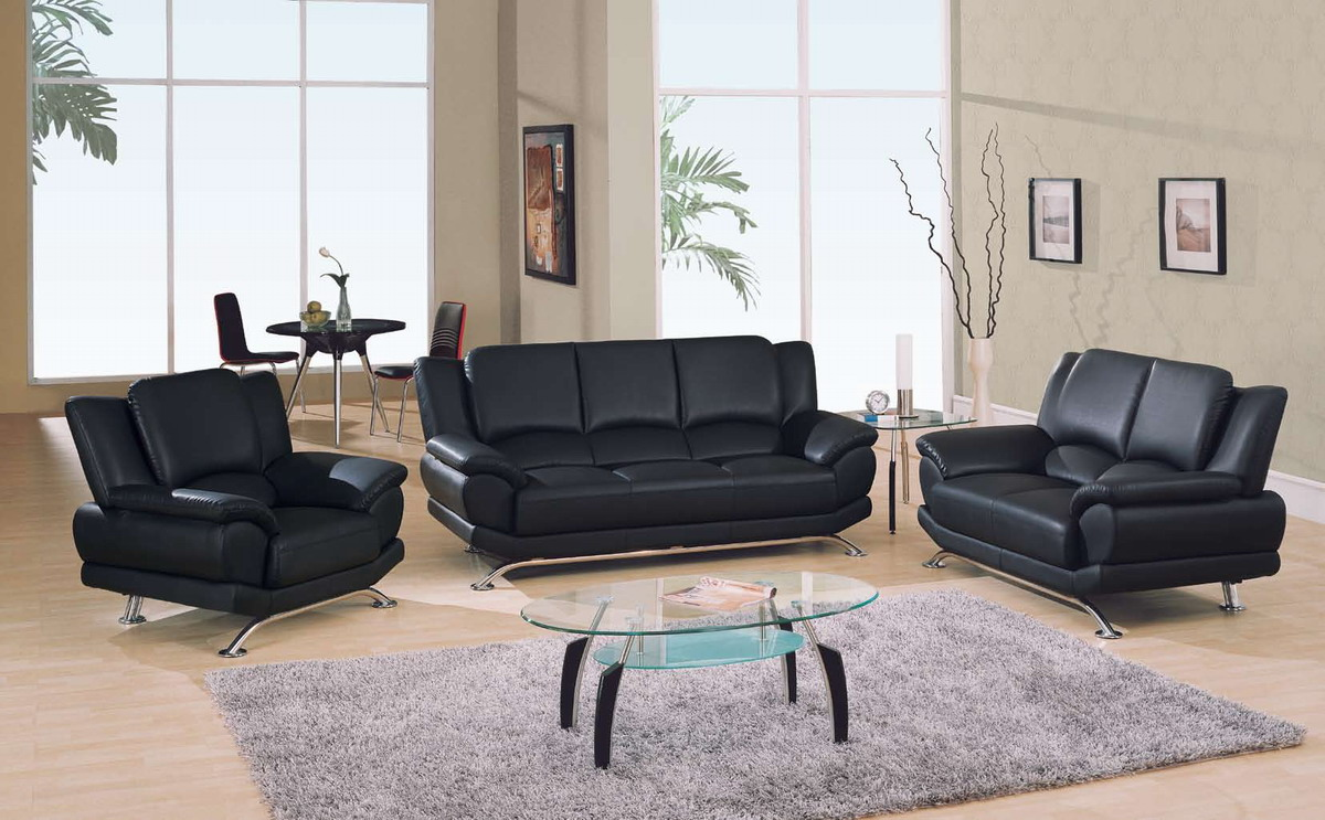 Global Furniture Usa 9908 Living Room Collection Black