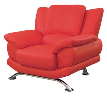 Global Furniture USA 9908 Chair - Red