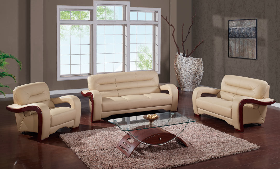 Global furniture usa 992 living room set cappuccino 992set cap