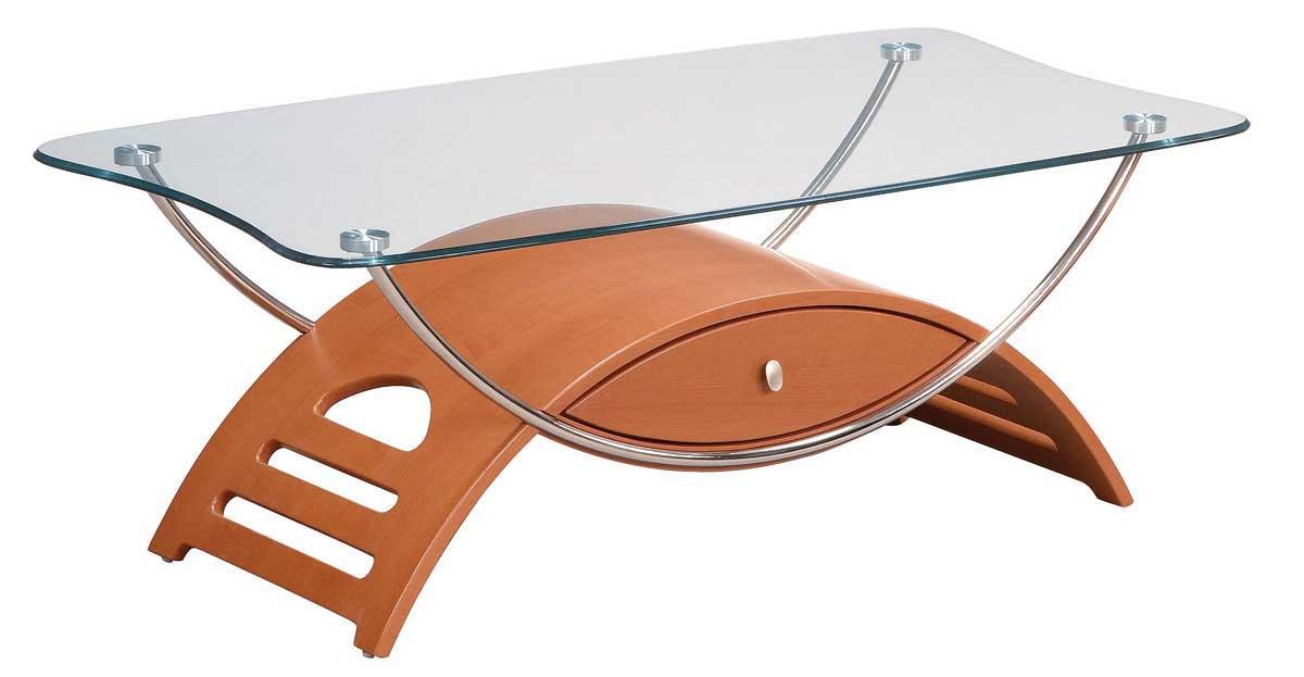 Global Furniture USA 63 Coffee Table - Cherry
