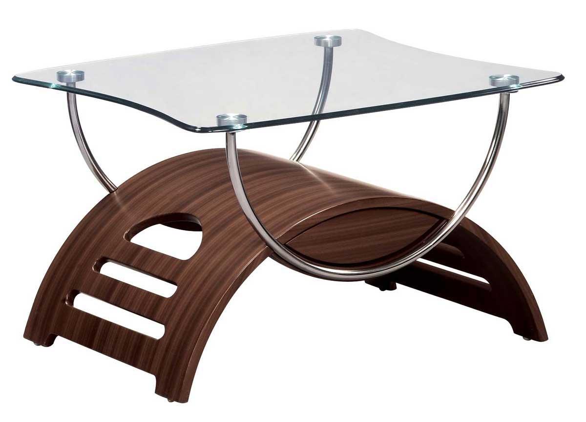 Global Furniture USA 63 End Table - Mahogany 63ME