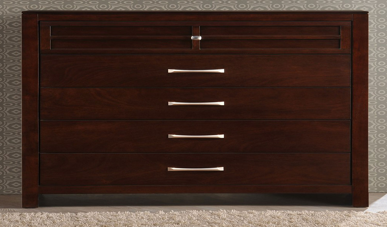 Global Furniture USA Abbey Chest - Merlot