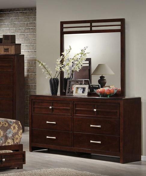 Global Furniture USA Abbey Dresser - Merlot