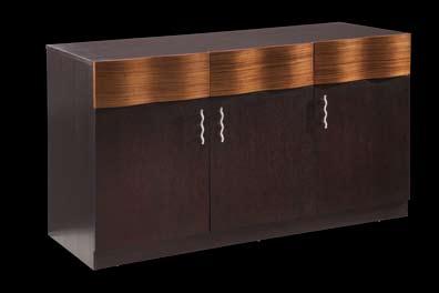 Global Furniture USA Amanda Buffet - Dark Brown