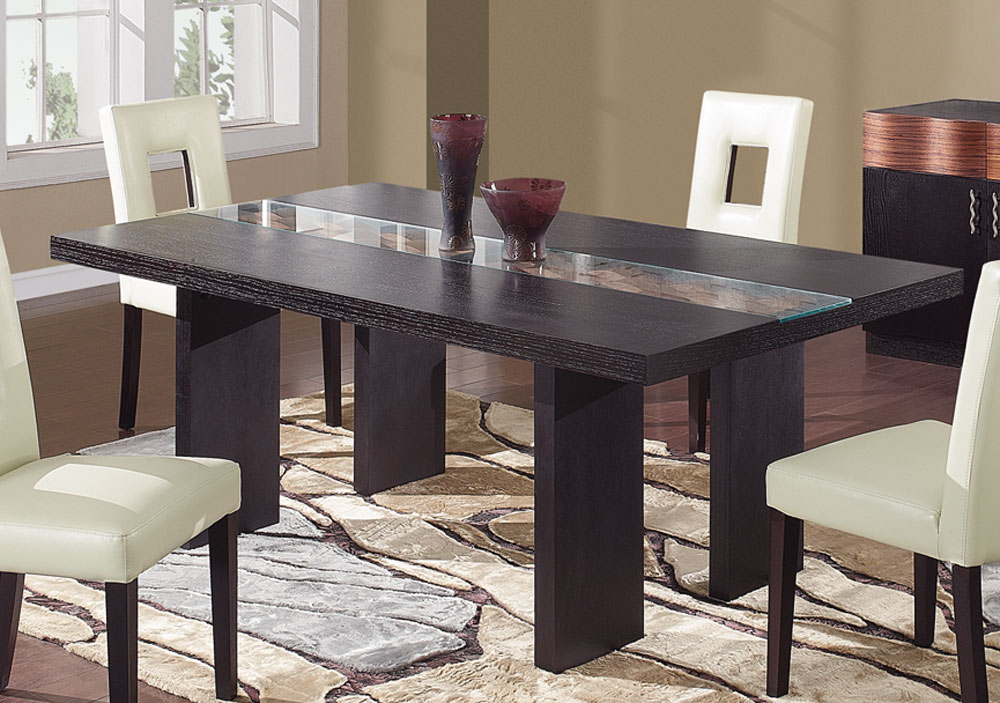 Global Furniture USA Amanda Dining Table - Dark Brown