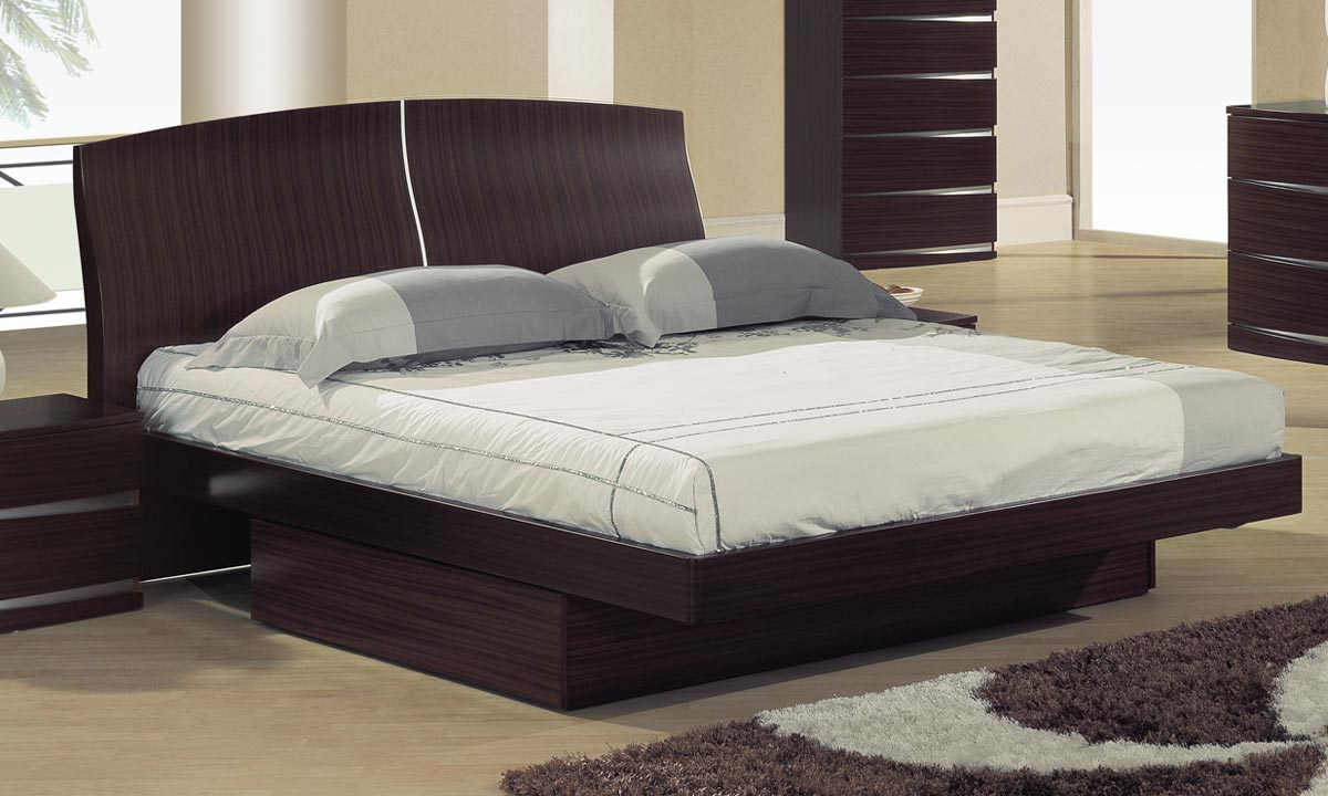 Global Furniture USA Aria Platform Bed - Sapelle
