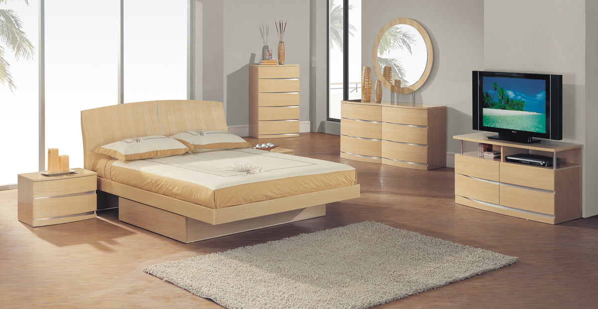 Global Furniture USA Aria Dresser - Maple