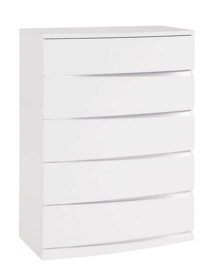 Global Furniture USA Aurora Chest - White