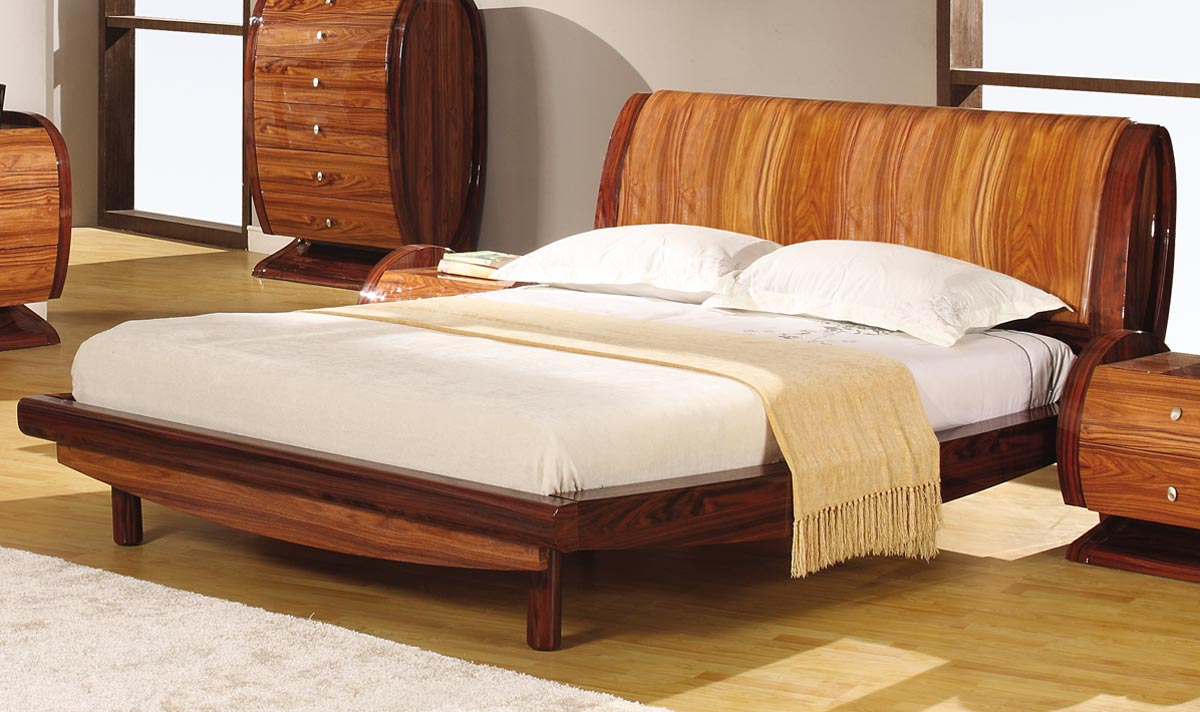 Global Furniture USA Autumn Platform Bed - Kokuten