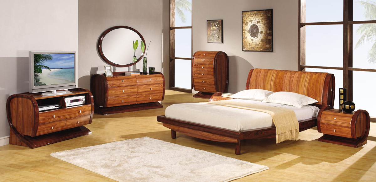 Global Furniture USA Autumn Platform Bedroom Set - Kokuten