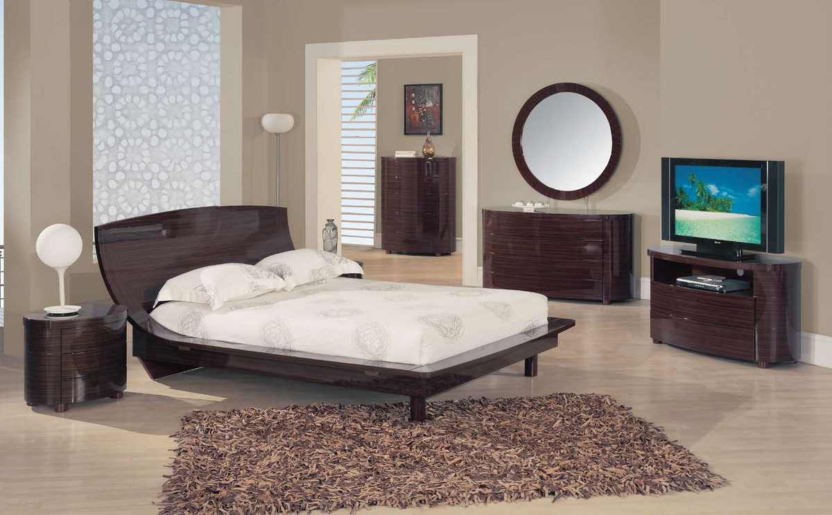 Global Furniture USA B110 Bedroom Collection - Dark Brown
