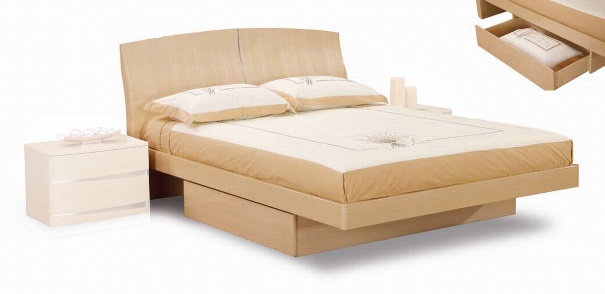 Global Furniture USA B63 Bed - Maple