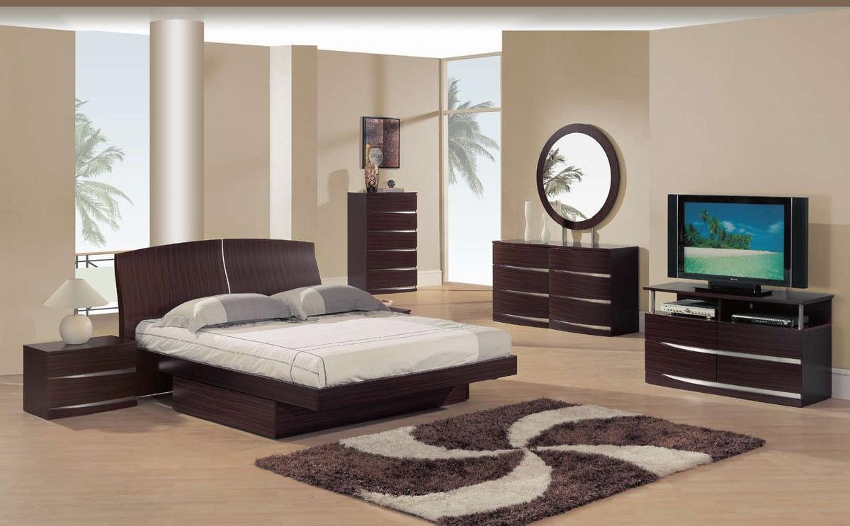 Global Furniture USA B63 Bedroom Collection - Matte Sapele
