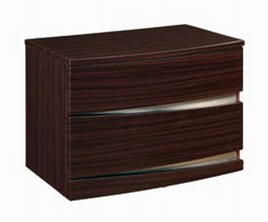 Global Furniture USA B63 Night Stand - Matte Sapele