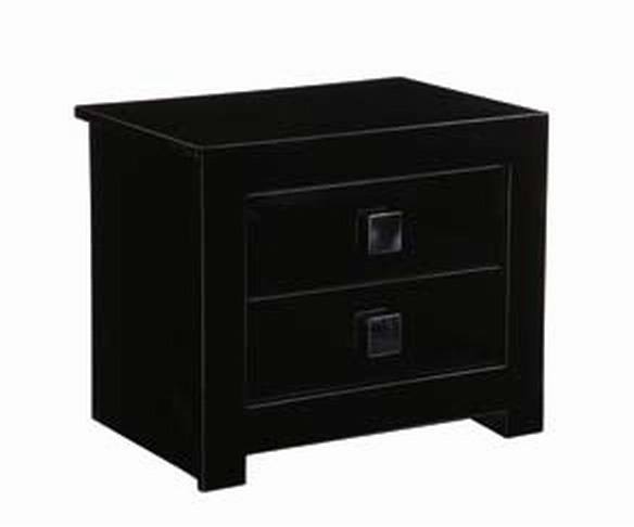 Global Furniture USA B67 Night Stand - Black