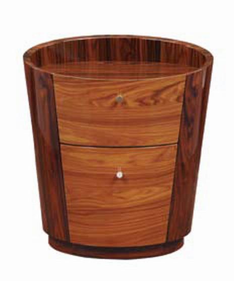 Global Furniture USA B92 Night Stand - Two Tone Brown