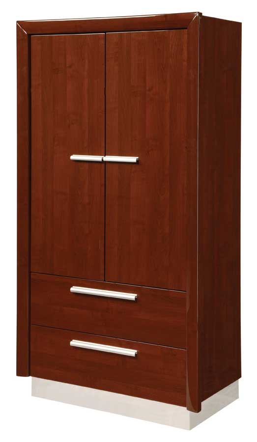 Global Furniture USA B99 Armoire-Brown