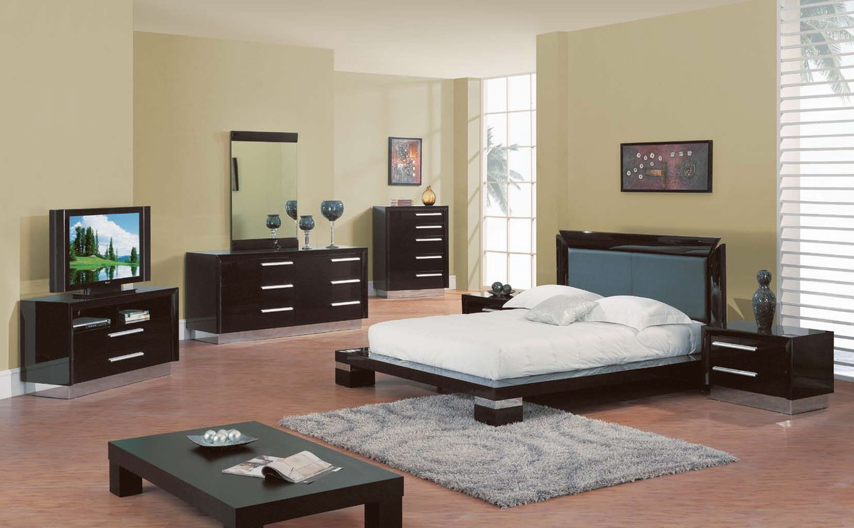 Global Furniture USA B99 Bedroom Collection In Wenge