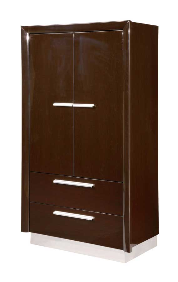 Global Furniture USA B99 Armoire-Wenge