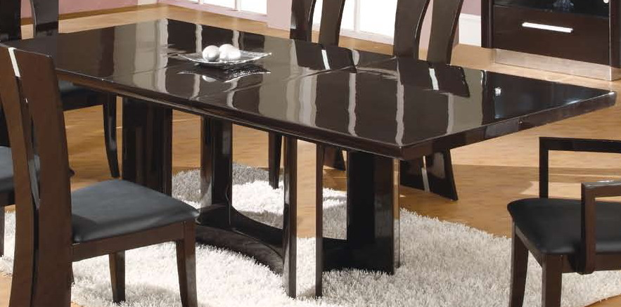 Global Furniture Usa D59 Dining Table Dark Brown