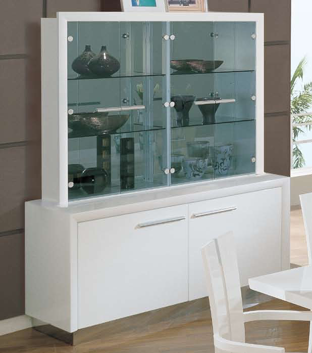 Global Furniture USA D99-Wh China Cabinet - White