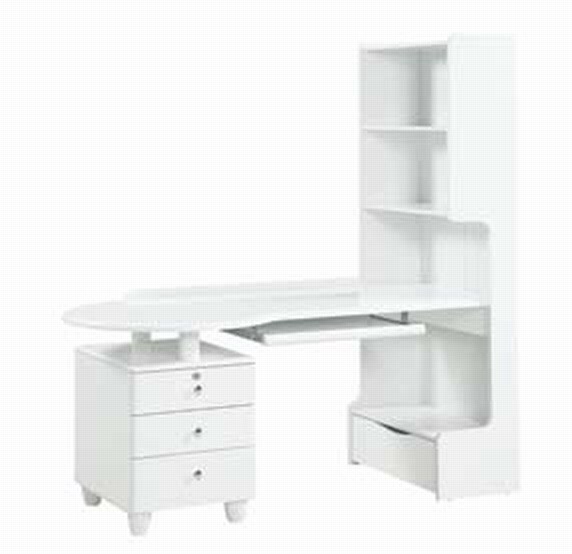 Study Table Furniture : Photo of Global Furniture USA Emily Kids Study Table - White (Home ...