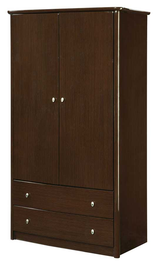 Global Furniture USA Emily Armoire-Wenge