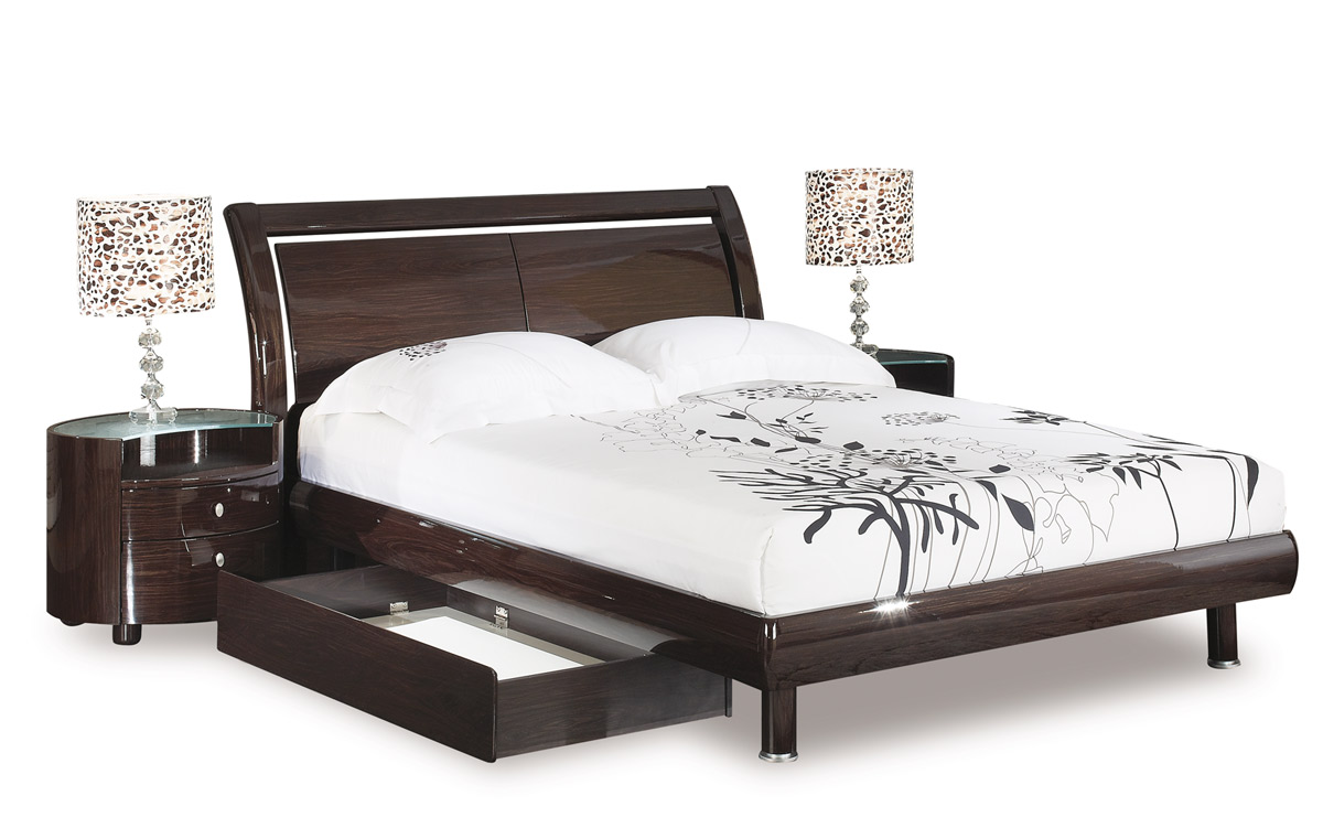 emily bedroom set. Global Furniture USA Emily Platform Bedroom Collection  Wenge GF