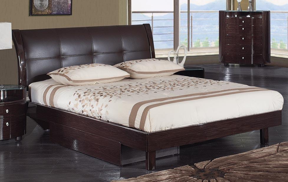 Global Furniture USA Evelyn Platform Bed - Wenge