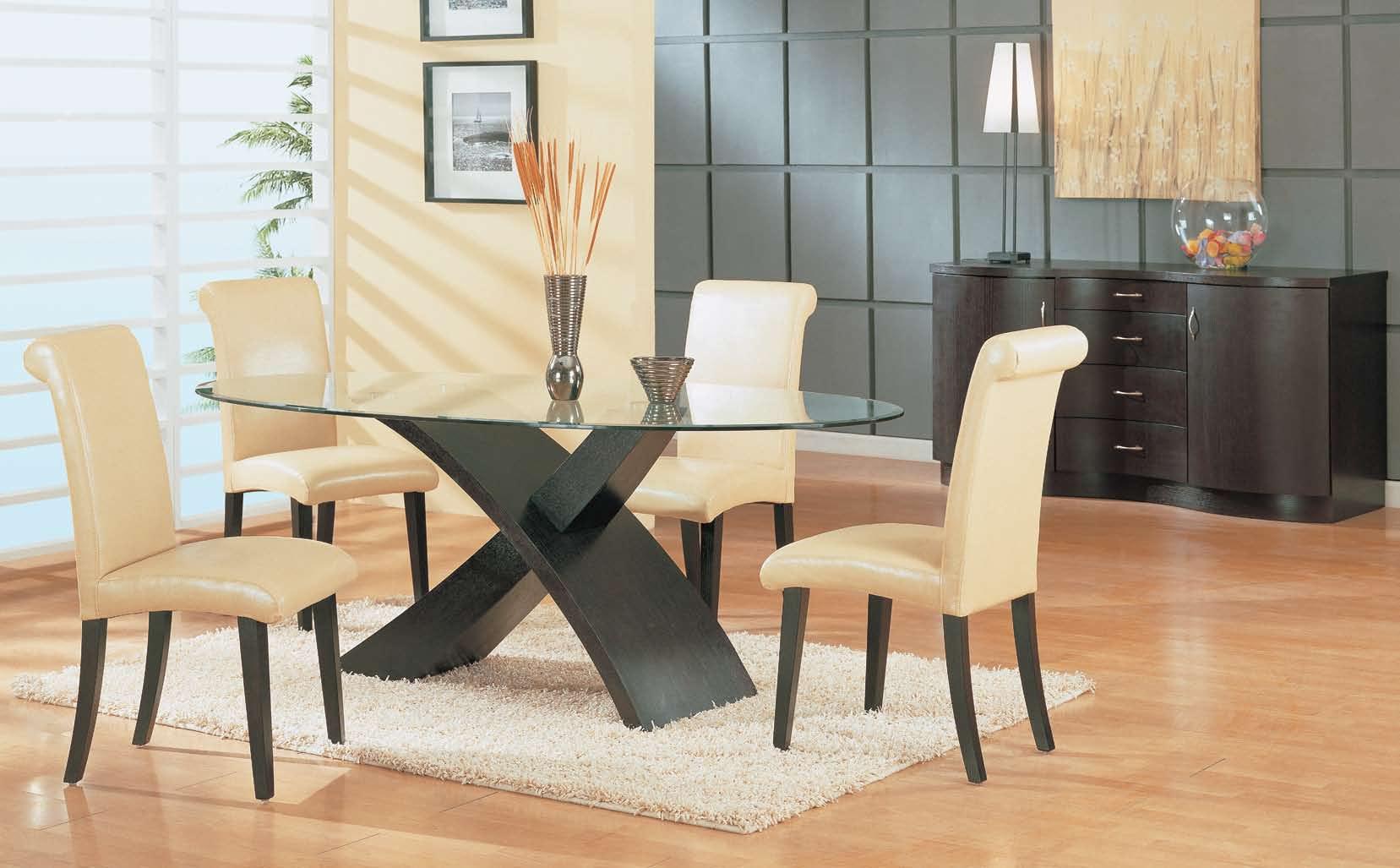 Global Furniture USA GF-G018 Dining Set - Beige