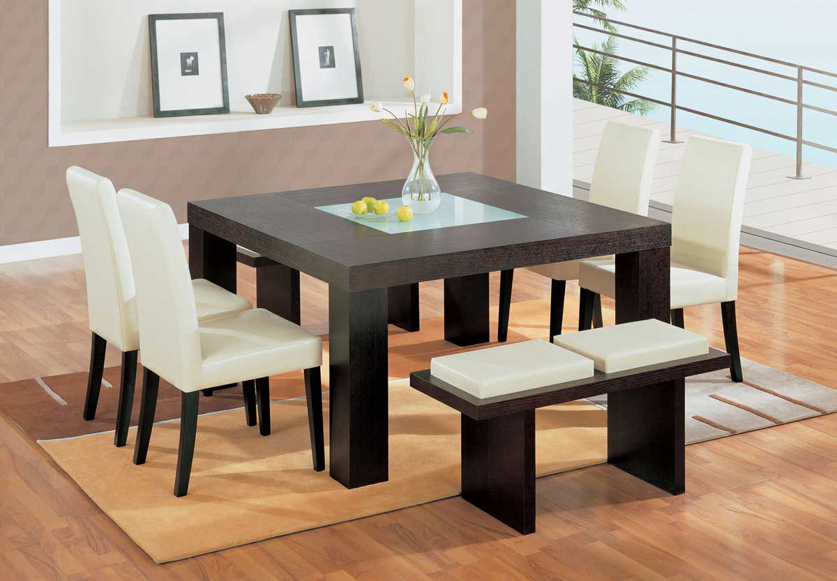 Global Furniture Usa Gf G020 Beige Dining Set