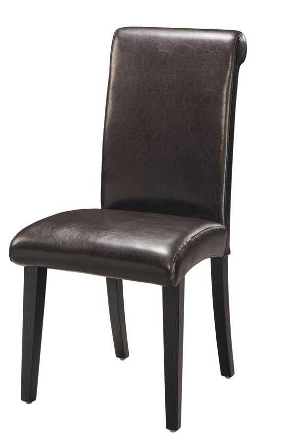 Cheap Global Furniture USA GF-G020 Dining Chair-Wenge Leatherette Cushion and Wenge Wood