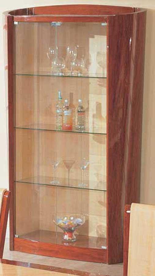 Cheap Global Furniture USA Gabriella Vetrina China Cabinet – Oak and Cherry