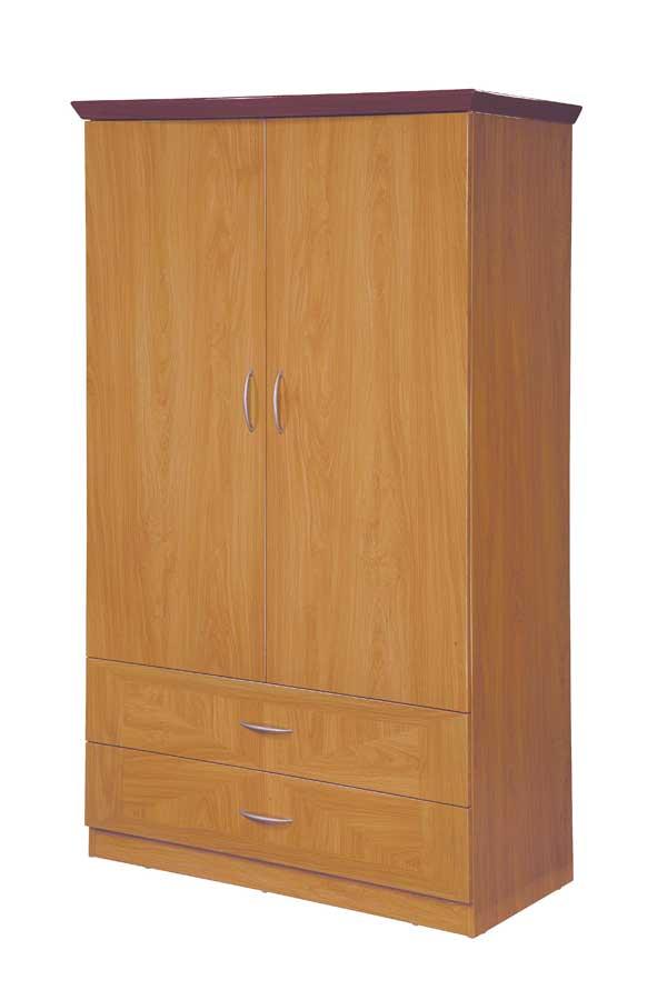 Global Furniture USA Greta Armoire-Glossy Oak