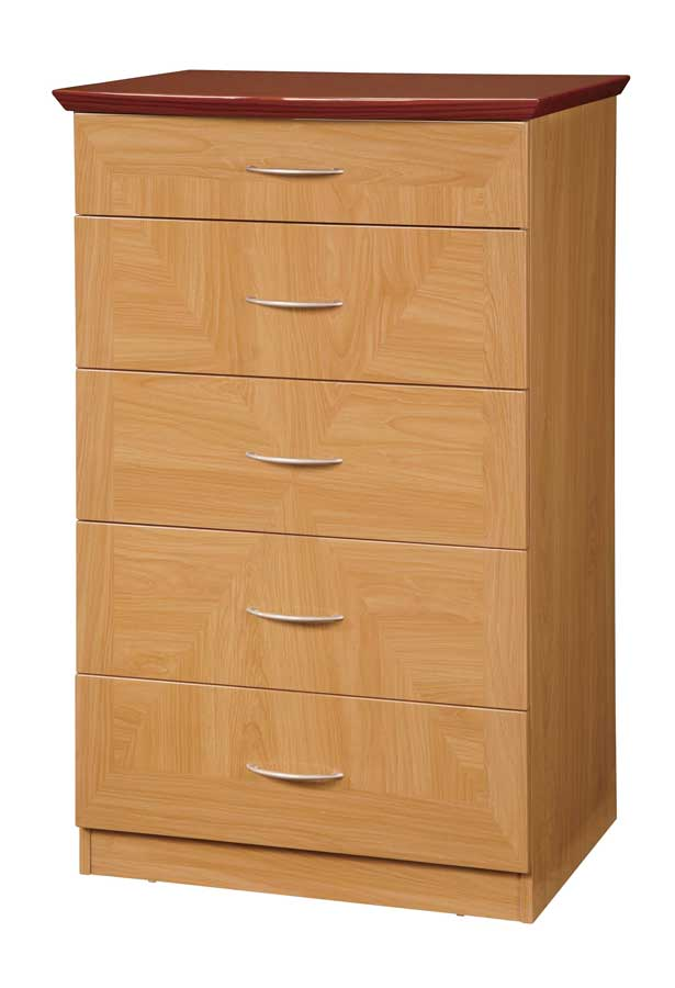 Global Furniture USA Greta Chest-Glossy Oak