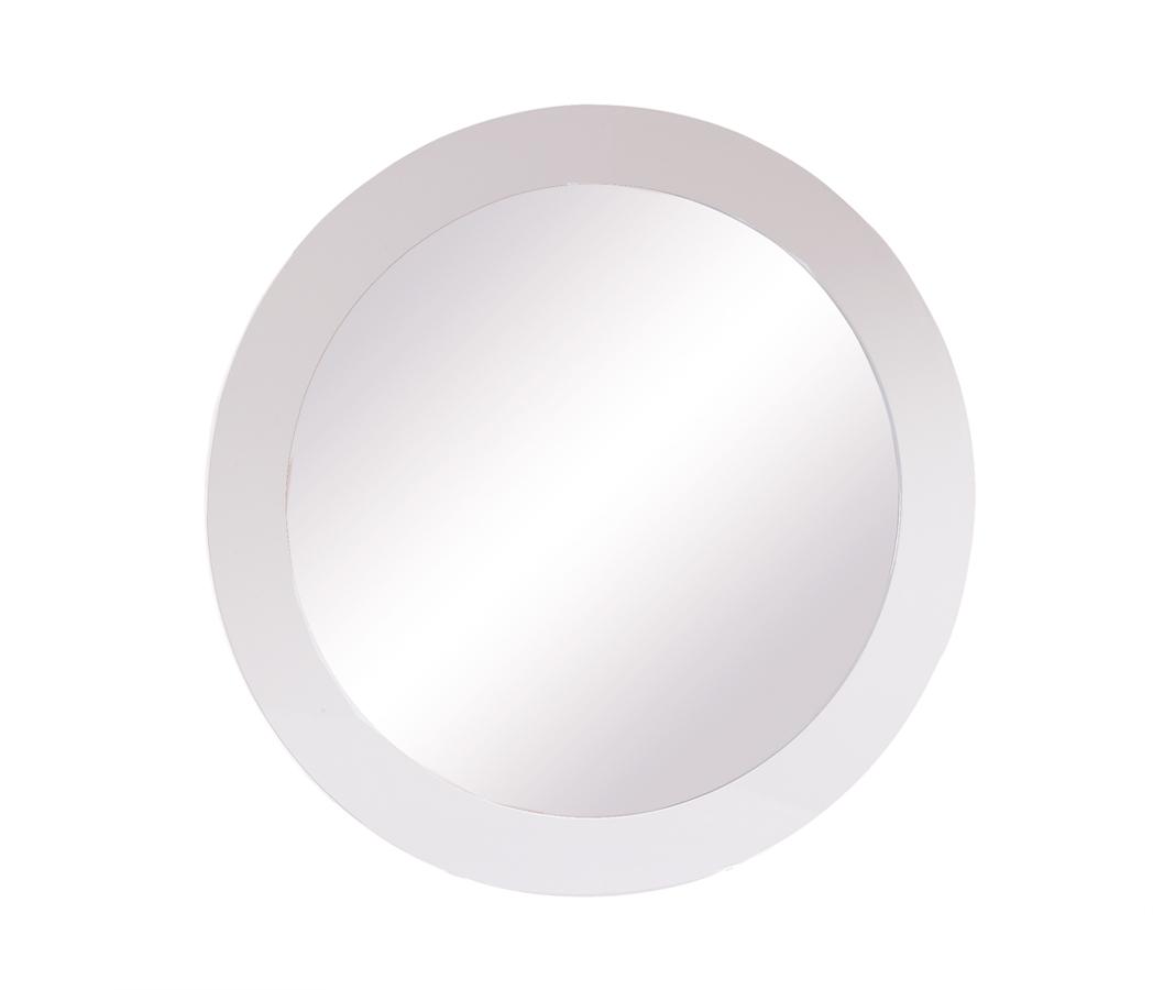 Global Furniture USA Gia Mirror - White/Wenge