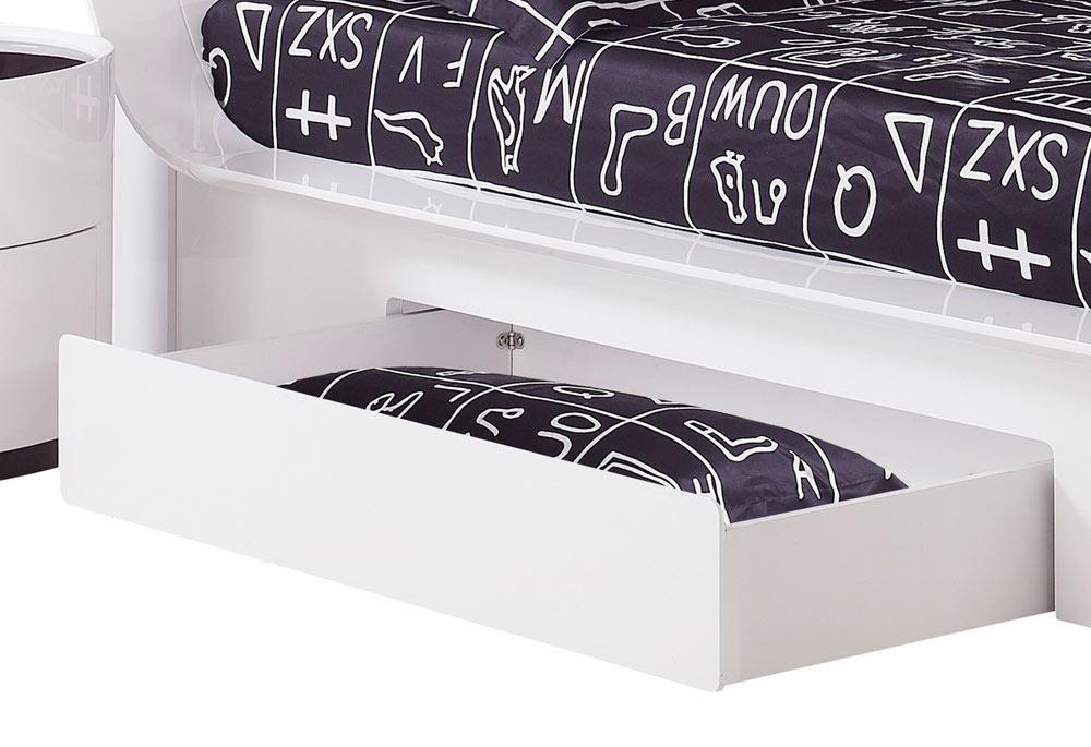 Global Furniture USA Gia Optional Drawer - White/Wenge