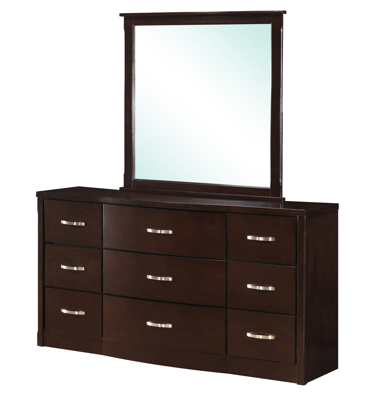 Global Furniture USA Hannah Mirror - Dark Espresso