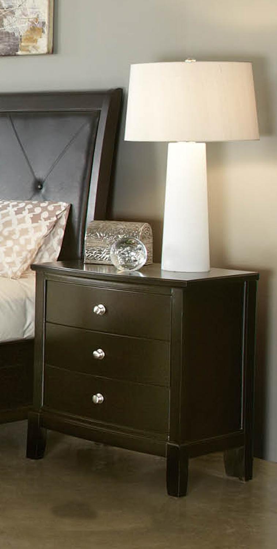 Global Furniture USA Jenna Nightstand - Espresso