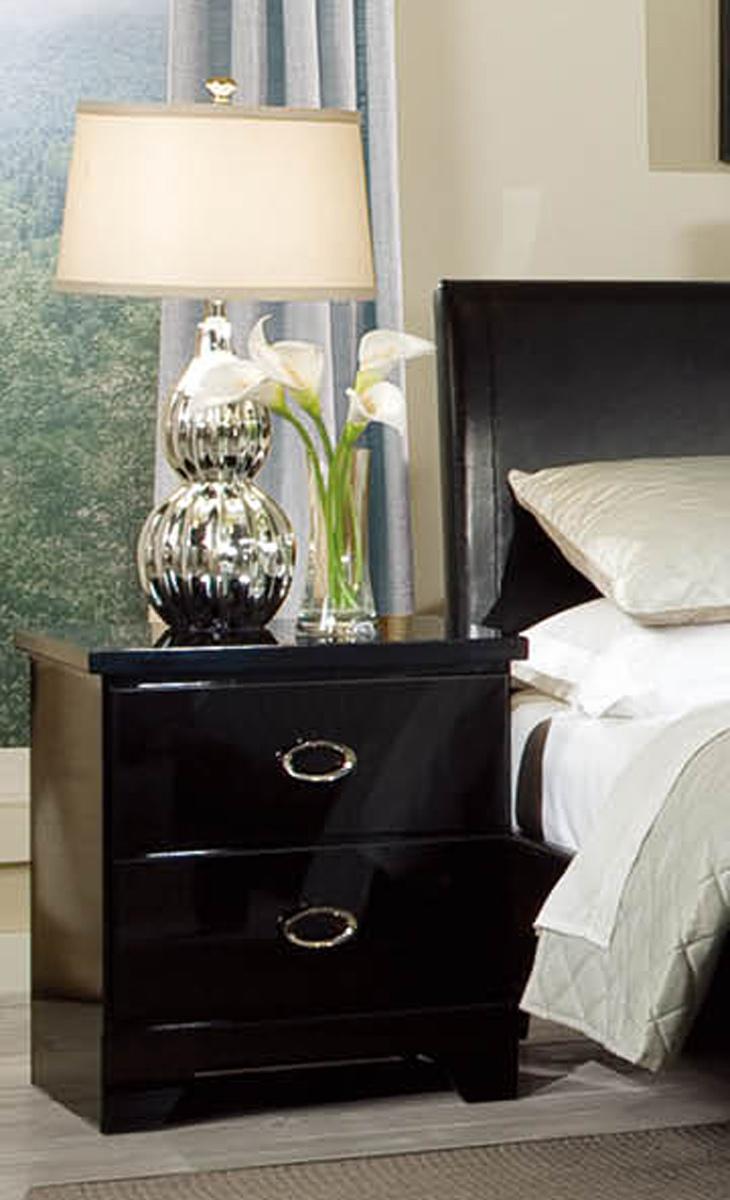 Global Furniture USA Khloe Nightstand - Black