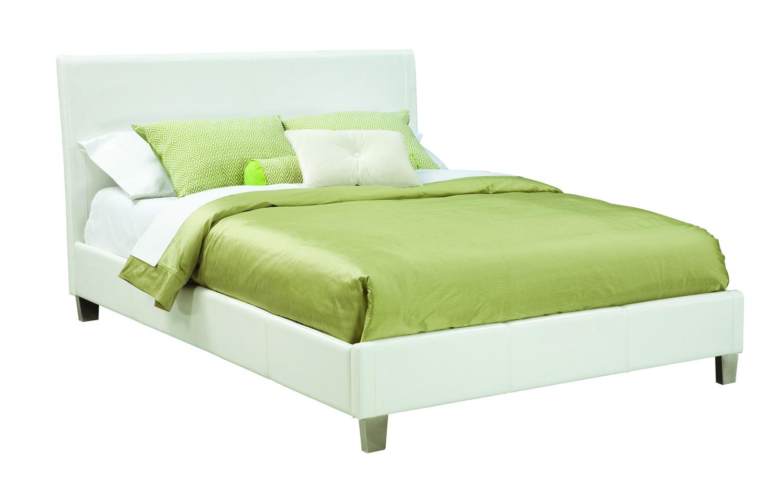 Global Furniture USA Khloe Bed - White