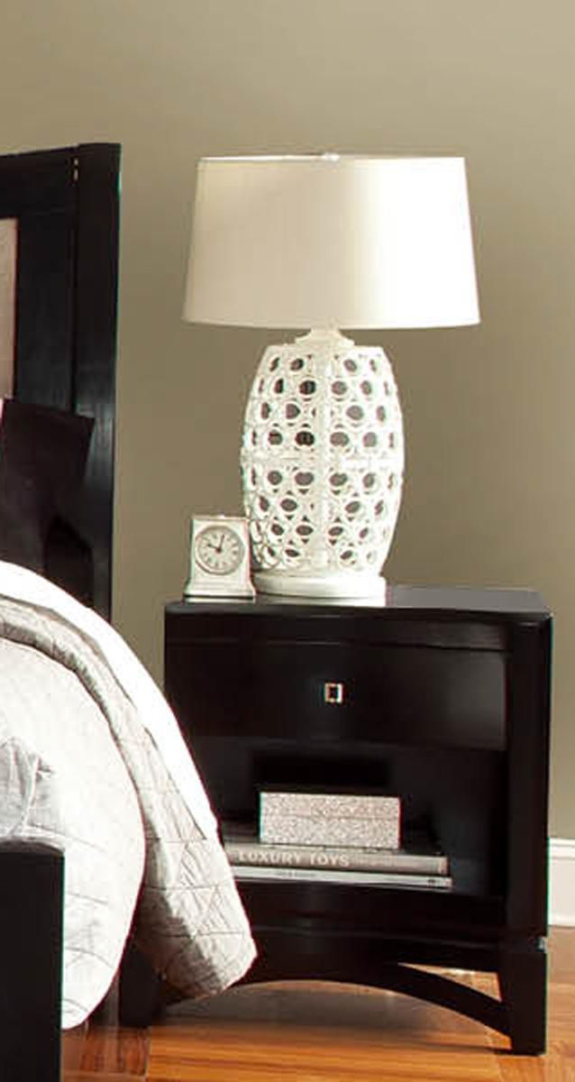 Global Furniture USA Madeline Nightstand - Black