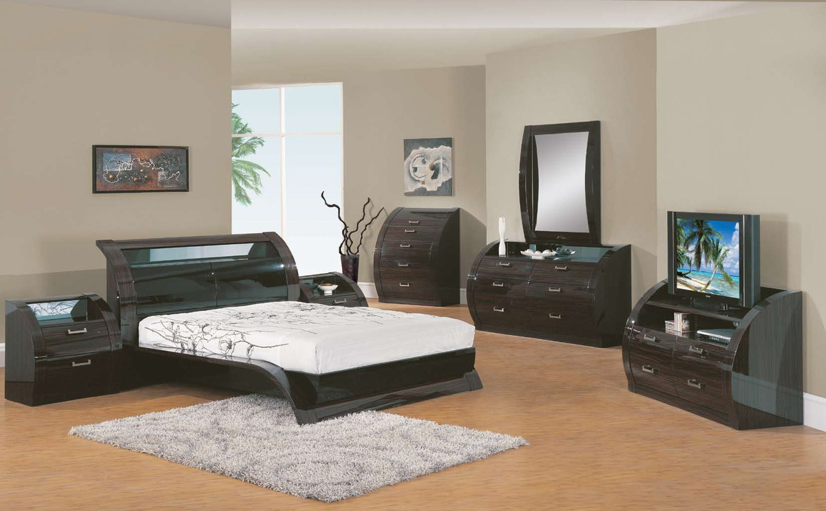 Global Furniture USA Madison Bedroom Collection - Dark Mahogany GF ...