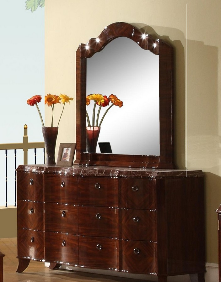 Global Furniture USA Michelle Mirror