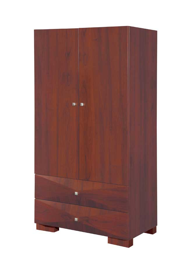 Global Furniture USA Milena Armoire-Mahogany