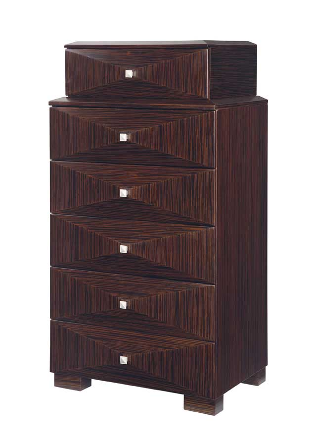 Global Furniture USA Milena Chest-Zebrano