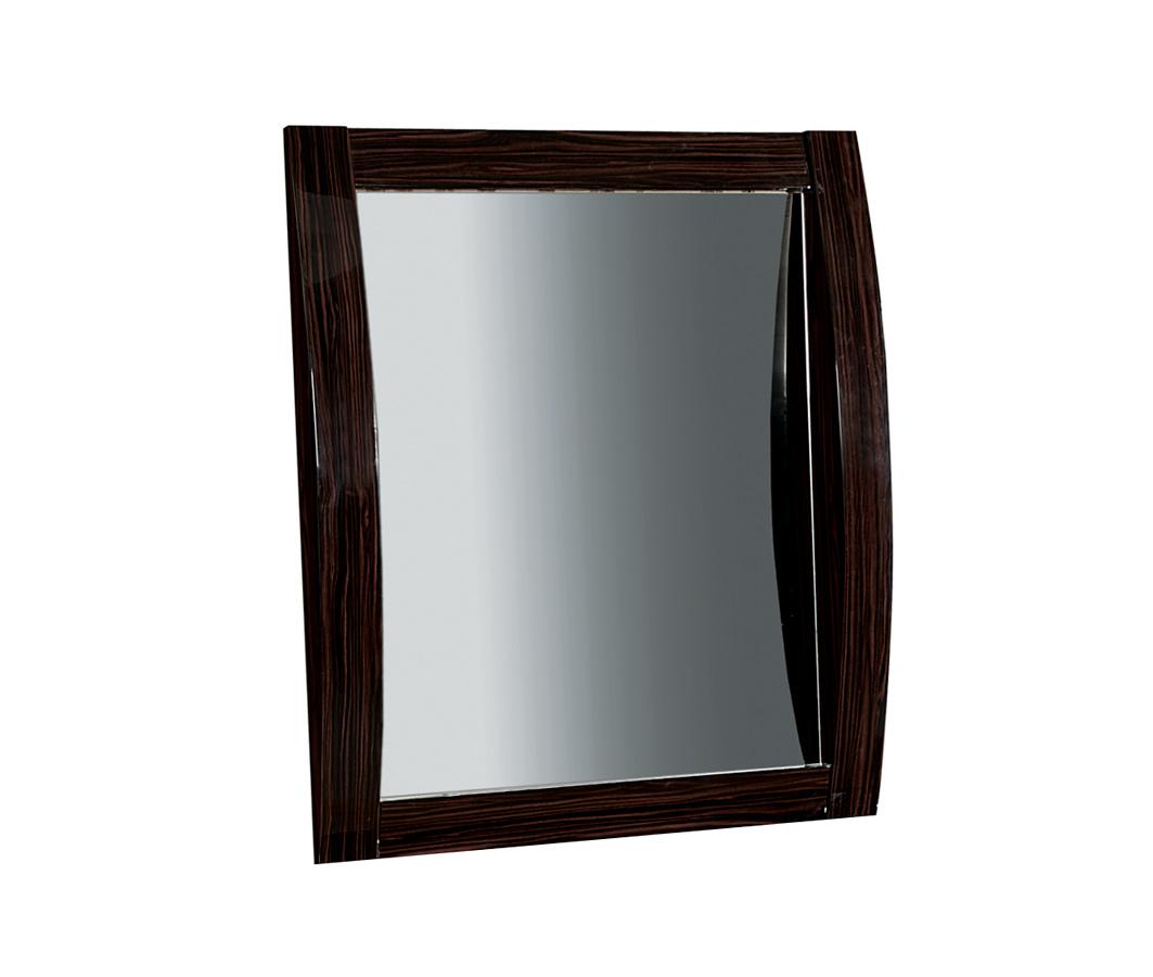 Global Furniture USA Madison Mirror - Black/Zebrano