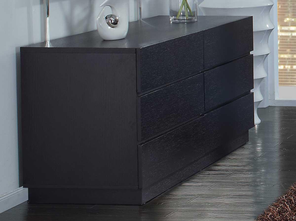 Global Furniture USA Miami Dresser - Wenge